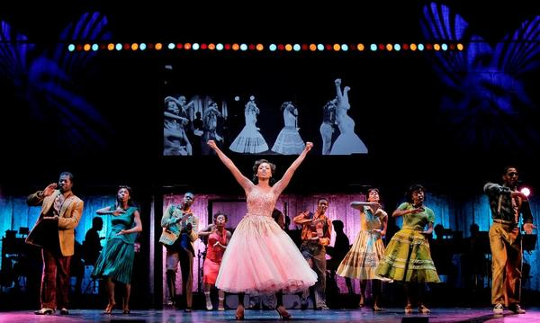 Felicia Boswell (Felicia) and the National Touring Cast of MEMPHIS