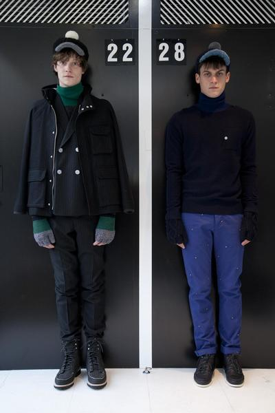 Band Of Outsiders Men FW2013.Photo by Valerio Mezzanotti / NOWFASHION