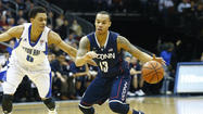 – The problem wasn't in starting the game. The Huskies had hit a lull in the middle, up by 13 points and now down seven when Kevin Ollie took a timeout.