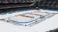 2013 Hockey City Classic at Soldier Field