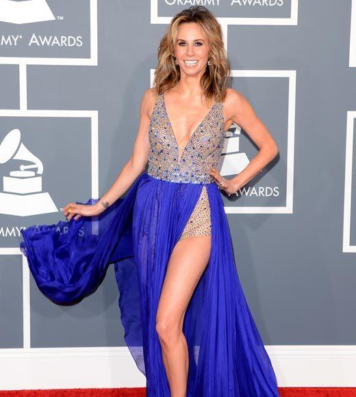 Grammy Awards 2013: Red Carpet Arrivals: Keltie Colleen