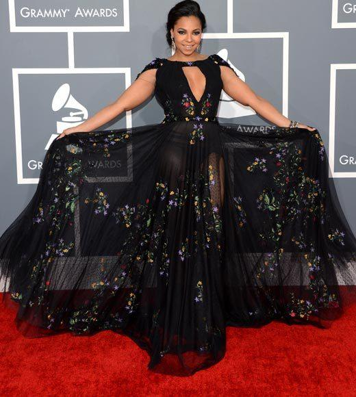 Grammy Awards 2013: Red Carpet Arrivals: Ashanti