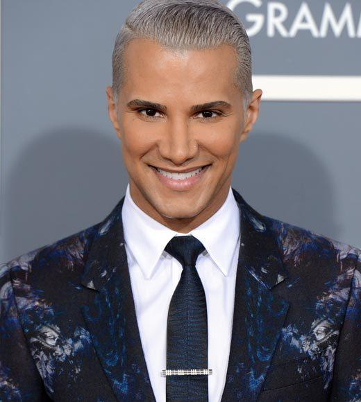 Grammy Awards 2013: Red Carpet Arrivals: Jay Manuel