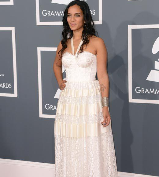 Grammy Awards 2013: Red Carpet Arrivals: Anoushka Shankar