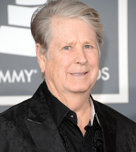Grammy Awards 2013: Red Carpet Arrivals: Brian Wilson