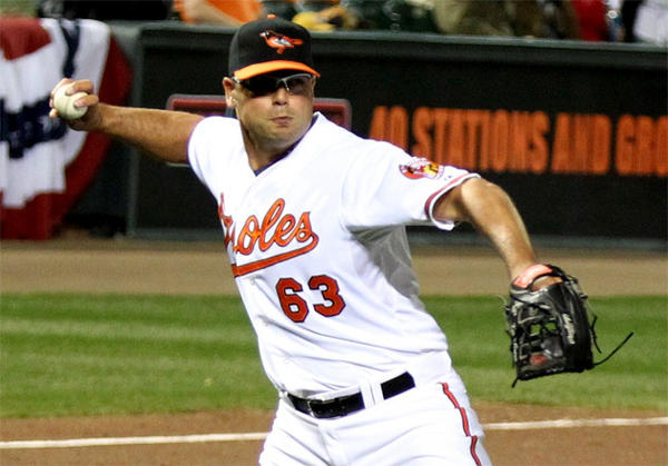 Kevin Gregg signed a two-year contract to be Baltimore's closer in 2011.