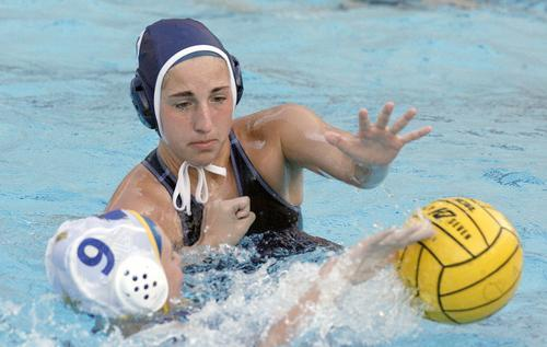 ARCHIVE PHOTO: Crescenta Valley's Katie Benson has been a leader on both sides of the ball for the Falcons this season.