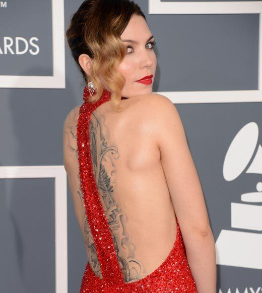 Grammy Awards 2013: Red Carpet Arrivals: Skylar Grey