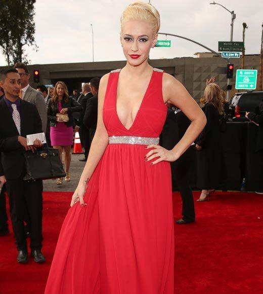 Grammy Awards 2013: Red Carpet Arrivals: Kaya Jones
