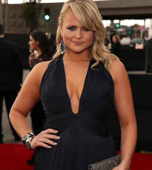 Grammy Awards 2013: Red Carpet Arrivals: Miranda Lambert