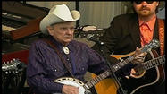 He walks a little slower these days and spends less time on the road, but Ralph Stanley isn't ready to put away his banjo.