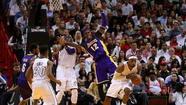 The Miami Heat predictably rolled over the Los Angeles Lakers by 10 points Sunday afternoon, in a picture-perfect contrast about the finicky nature of the NBA's Dream Team concept.