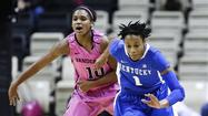 "NASHVILLE, Tenn. (AP) — A'dia Mathies scored a season-high 28 points, and 10th-ranked<span class=""Apple-converted-space""> </span><span style=""color: red;"">Kentucky</span><span class=""Apple-converted-space""> </span>beat Vanderbilt 75-53 Sunday for the Wildcats' second straight road victory."
