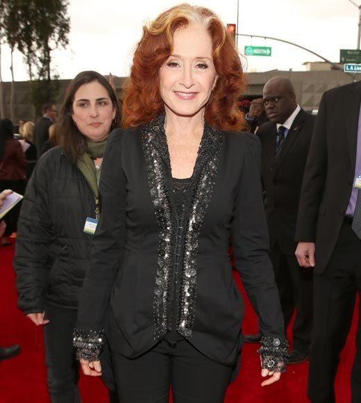 Grammy Awards 2013: Red Carpet Arrivals: Bonnie Raitt