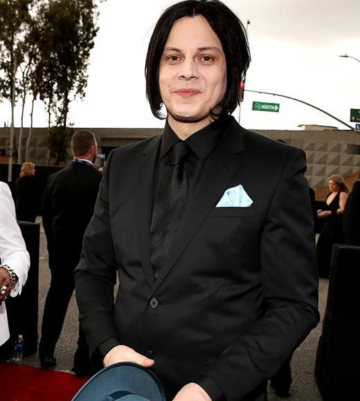 Grammy Awards 2013: Red Carpet Arrivals: Jack White