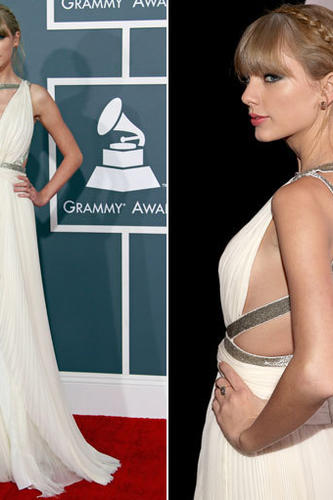 Taylor Swift in J. Mendel.