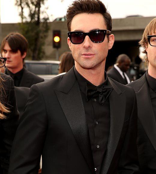 Grammy Awards 2013: Red Carpet Arrivals: Adam Levine