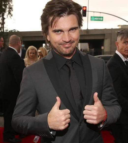 Grammy Awards 2013: Red Carpet Arrivals: Juanes