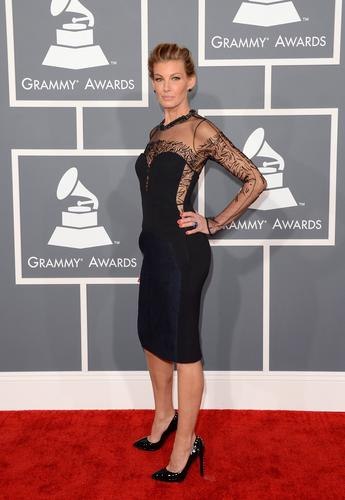 Faith Hill in J. Mendel.