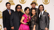 Quetzal, the L.A. band that weaves together funk, rock and regional Mexican folk-music varietals such as <em>son jarocho</em>, has won the Grammy for Latin rock, urban or alternative album.