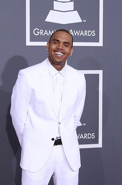 R&B singer Chris Brown