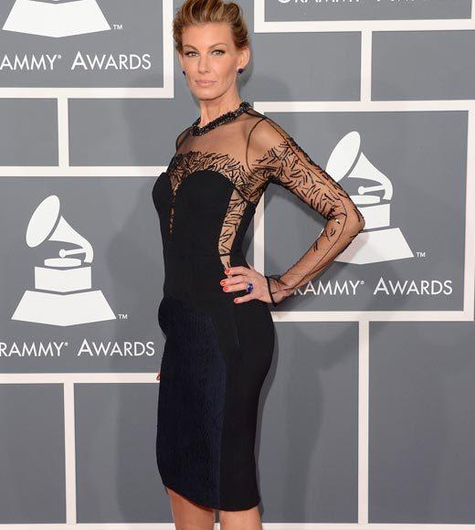 Grammy Awards 2013: Red Carpet Arrivals: Faith Hill