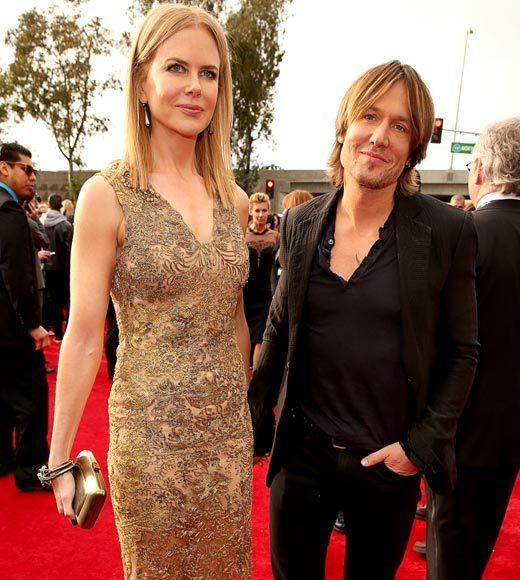 Grammy Awards 2013: Red Carpet Arrivals: Nicole Kidman and Keith Urban