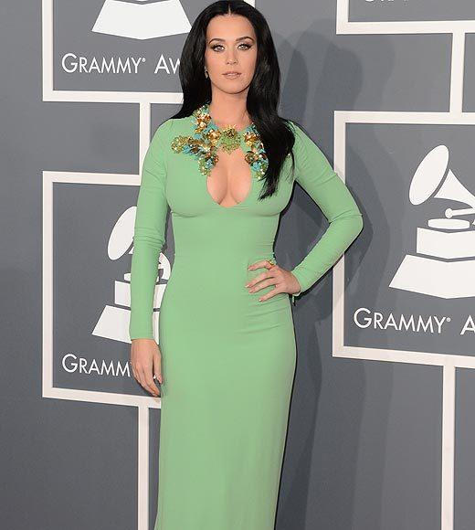 Grammy Awards 2013: Red Carpet Arrivals: Katy Perry