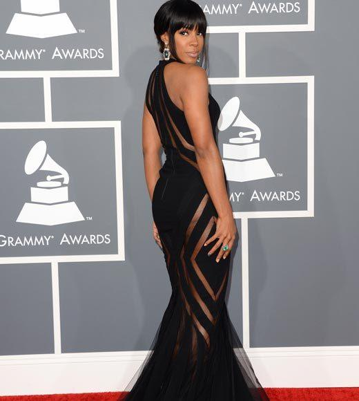 Grammy Awards 2013: Red Carpet Arrivals: Kelly Rowland