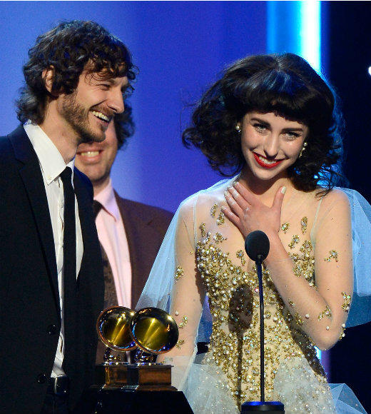 2013 Grammy Awards winners and nominees: Shake It Out - Florence & The Machine We Are Young - FUN. Featuring Janelle Mon�e WINNER: Somebody That I Used To Know - Gotye Featuring Kimbra Sexy And I Know It - LMFAO Payphone - Maroon 5 & Wiz Khalifa