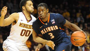 MINNEAPOLIS — Illinois' recent about-face can be partly traced to the mouth of D.J. Richardson.