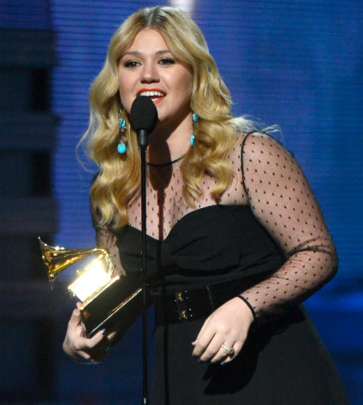 2013 Grammy Awards winners and nominees: WINNER: Stronger - Kelly Clarkson Ceremonials - Florence and the Machine Some Nights - Fun Overexposed - Maroon 5 The Truth About Love - Pink