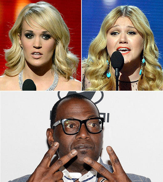 "Watching Carrie Underwood and Kelly Clarkson accept their Grammys -- Underwood for best country solo performance and Clarkson for best pop vocal album -- was totally fine, except for the annoying shots of ""American Idol"" judge Randy Jackson beaming with pride from the audience. We're afraid he got the wrong message. Sorry, Randy, just because Carrie and Kelly are stars\ doesn't mean you, or ""Idol,"" are actually relevant to the music industry. <br><br> <i>-- <a href=""http://twitter.com/geoffberkshire"">Geoff Berkshire</a>, <a href=""http://www.zap2it.com"">Zap2it</a></i>"