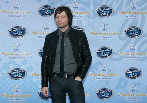 American Idol season 7 finalist Michael Johns poses at the premiere of The American Idol Experience at Disney's Hollywood Studios on Thursday, February 12, 2009.