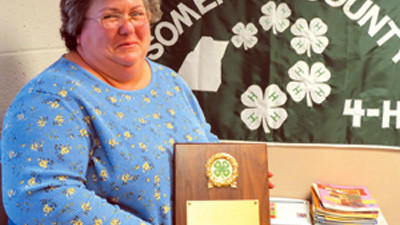 Lesa Ohler, 50, said she didnt know what she was getting into when she began working with her son's 4-H club.