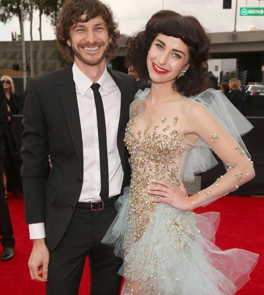 Grammy Awards 2013: Red Carpet Arrivals: Gotye and Kimbra