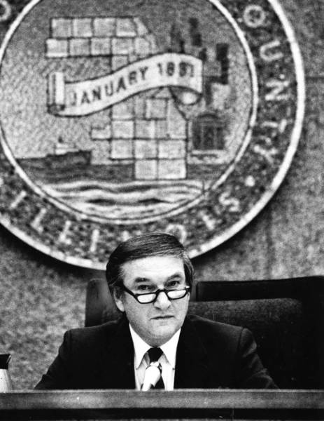 Martin Tuchow, a Cook County commissioner in the 1970s and '80s, was known for helping constituents.