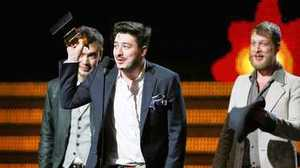 Grammy Awards: Mumford & Sons takes best album, Gotye best record; Fun. wins big