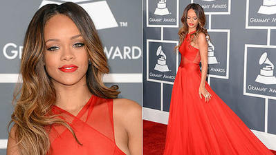 Grammy awards red carpet: They got the memo