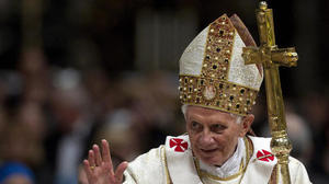 Pope resigning on Feb. 28, conclave in March