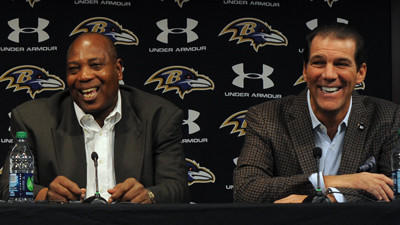 Bisciotti learned early to lean on Newsome and staff