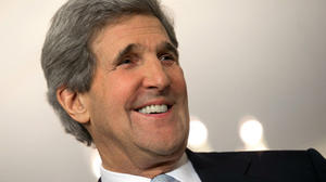 Foreign Service welcomes Kerry to Foggy Bottom