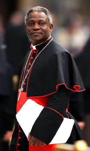 Peter Turkson (Ghana, 64) is the top African candidate. Head of the Vatican justice and peace bureau, he is spokesman for the Church's social conscience and backs world financial reform. He showed a video criticizing Muslims at a recent Vatican synod, raising doubts about how he sees Islam.