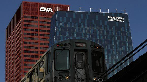 Storm Sandy pushed CNA and parent Loews to a loss in the fourth quarter.