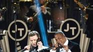 Grammys fashion: Tuxes with Timberlake; J-Lo shows some leg