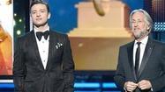 Justin Timberlake and Ryan Seacrest