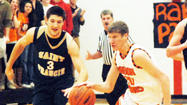 HARBOR SPRINGS — The Harbor Springs boys' basketball team did all they could to make Friday's Athletic Hall of Fame night in the Harbor Springs High School gym all the more special.