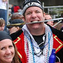 Pirate revelers at the Gasparilla Festival