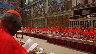 Ritualized vote will choose successor to Pope Benedict XVI