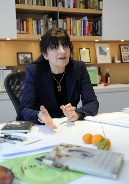 Ruth Reichl dishes on a variety of topics.